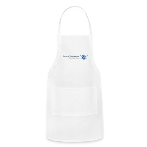 Can't talk logo - Adjustable Apron