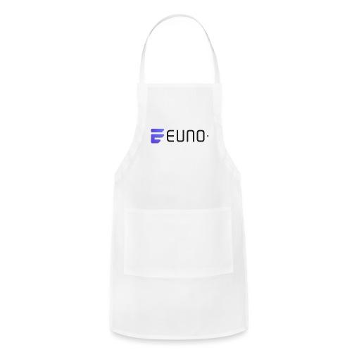 EUNO LOGO LANDSCAPE BLACK FONT - Adjustable Apron