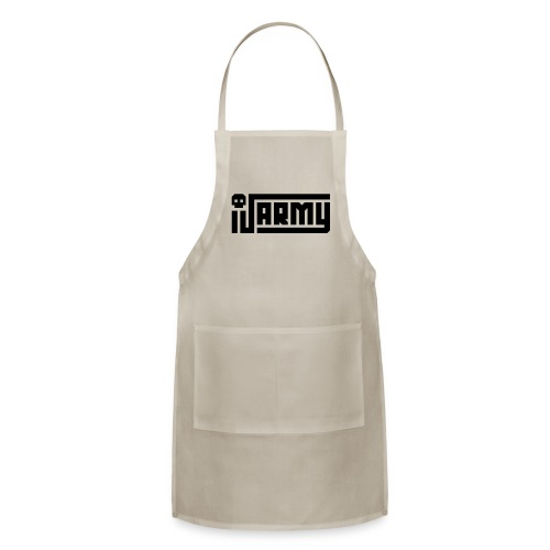 iJustine - iJ Army Logo - Adjustable Apron