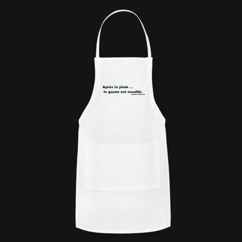 WET GRASS - Adjustable Apron