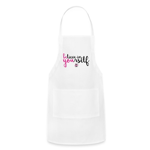 BE YOU shirt design w logo - Adjustable Apron