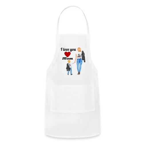 Mother's day gift from daughter, Mother's Day Gift - Adjustable Apron