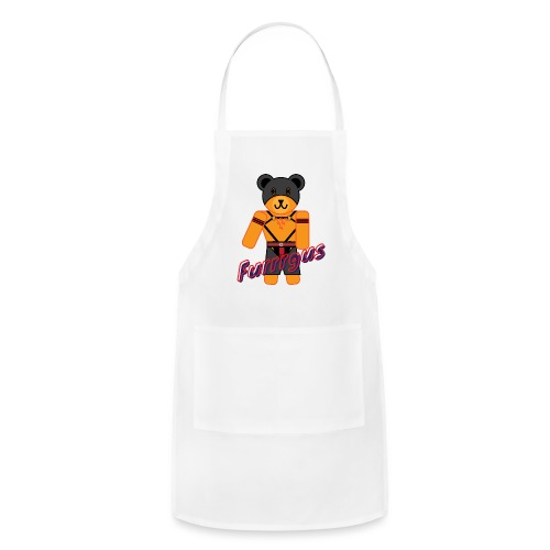 Leather Furrrgus - Adjustable Apron