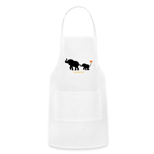 I Love You Tons! - Adjustable Apron