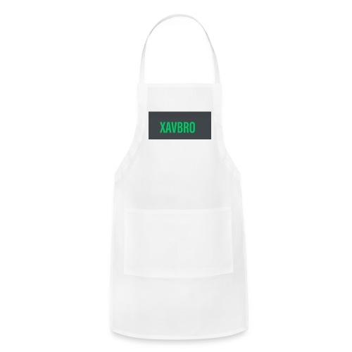 xavbro green logo - Adjustable Apron