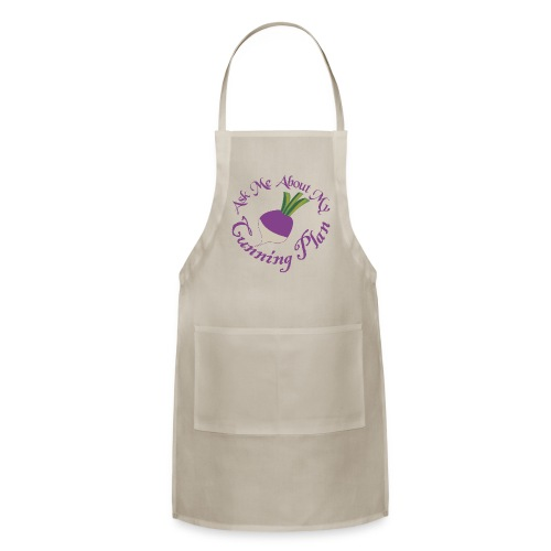 Ask Me About My Cunning Plan - Adjustable Apron