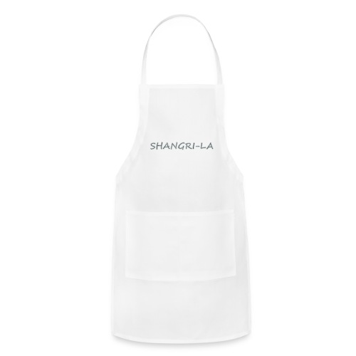 Shangri La silver - Adjustable Apron