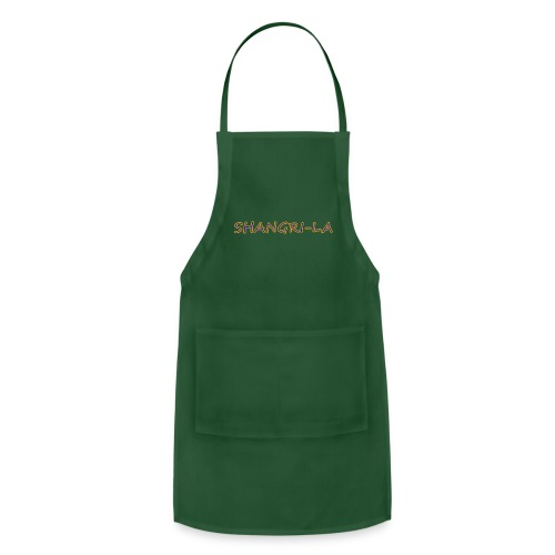 Shangri La gold blue - Adjustable Apron