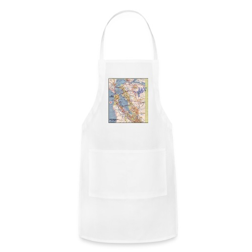 Phillips 66 Zodiac Killer Map June 26 - Adjustable Apron
