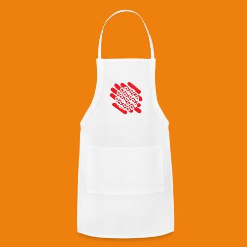 Waffles without Borders Logo - Adjustable Apron