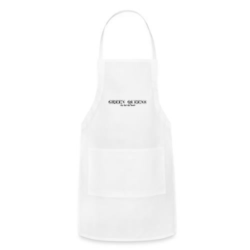 Limited edition - green queens - Adjustable Apron