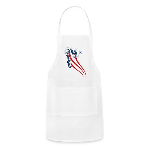 Sweeping American Flag - Adjustable Apron