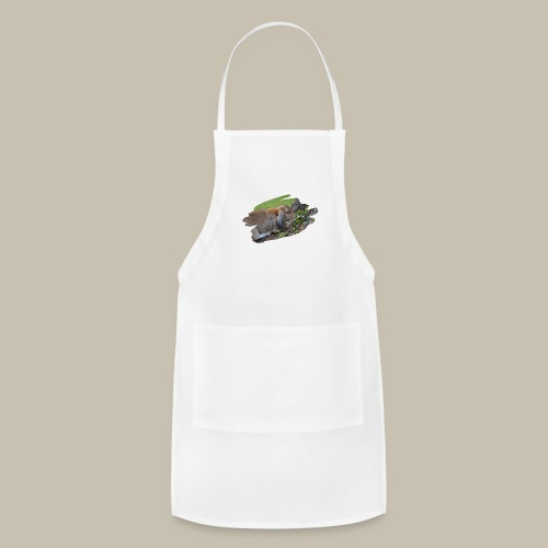 French Lop Brush Stroke - Adjustable Apron