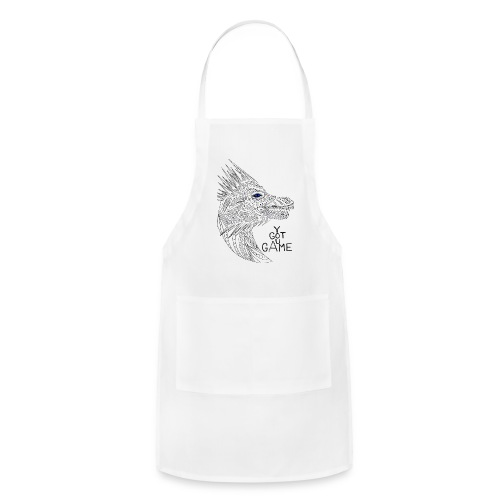 Blue eye dragon - Adjustable Apron