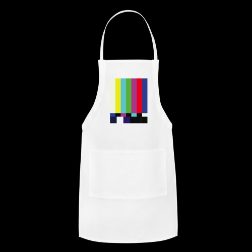 This is a TV Test   Retro Television Broadcast - Adjustable Apron