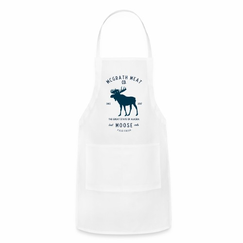 McGrath Meat Company Blue Stamp Logo - Adjustable Apron