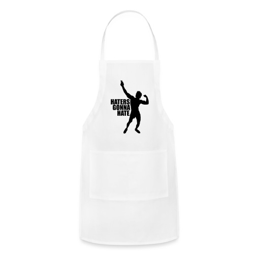 Zyzz Silhouette Haters Gonna Hate - Adjustable Apron