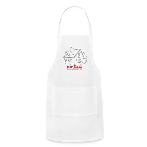 Fannie & Freddie Joke - Adjustable Apron