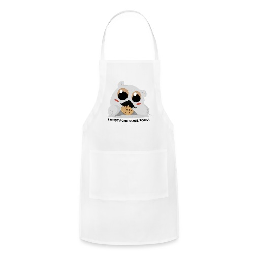 I Mustache Some Food - Adjustable Apron