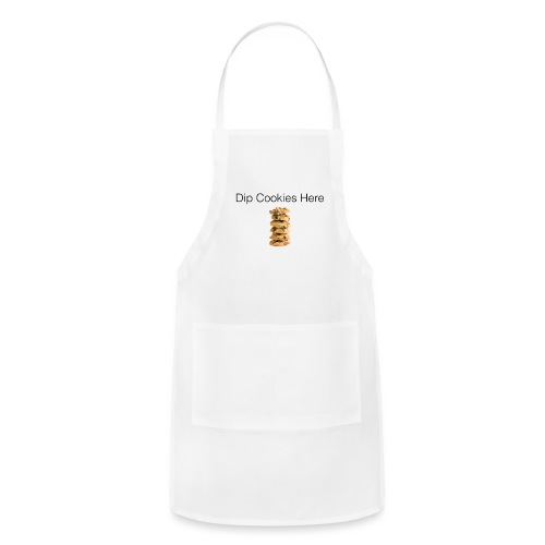 Dip Cookies Here mug - Adjustable Apron
