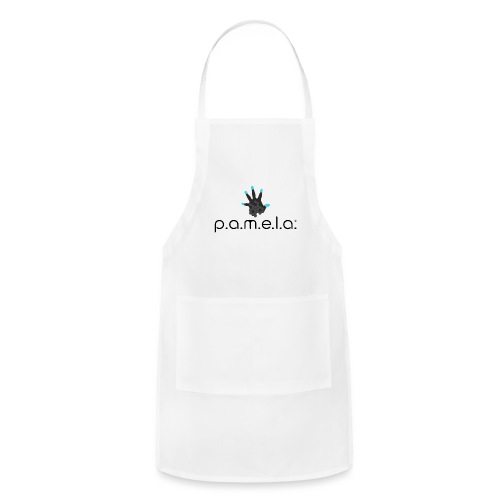 P.A.M.E.L.A. Logo Black - Adjustable Apron