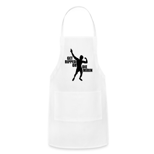 Zyzz Silhouette Get Ripped - Adjustable Apron