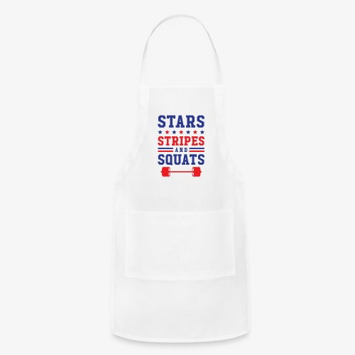 Stars, Stripes And Squats - Adjustable Apron