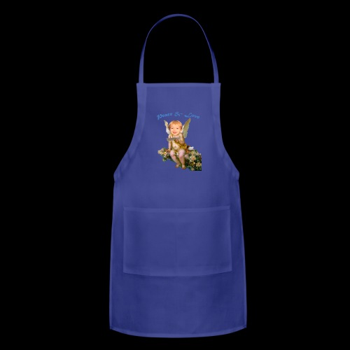 Peace and Love - Adjustable Apron