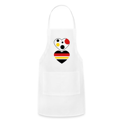 two hearts - Adjustable Apron