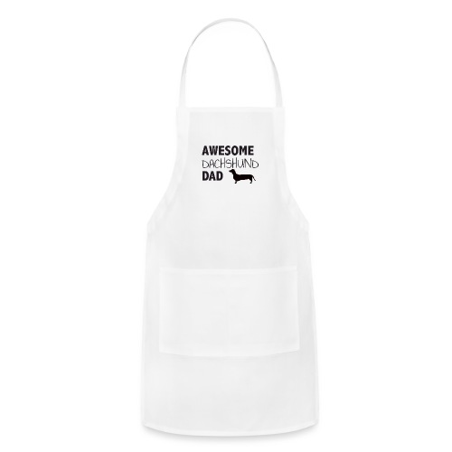 Awesome Dachshund Dad - Adjustable Apron