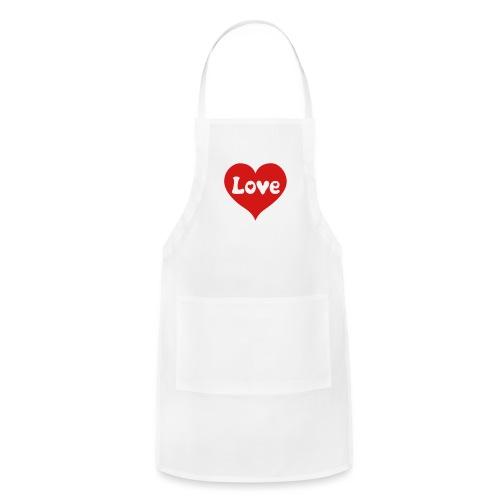 Love Heart - Adjustable Apron