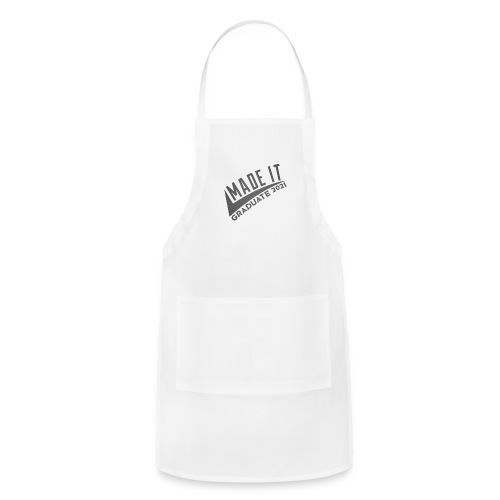RCMP EXCL MADE IT GRAD21 GREY TEE - Adjustable Apron