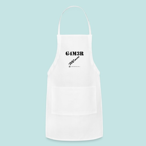 Gamer Mom (black) - Adjustable Apron