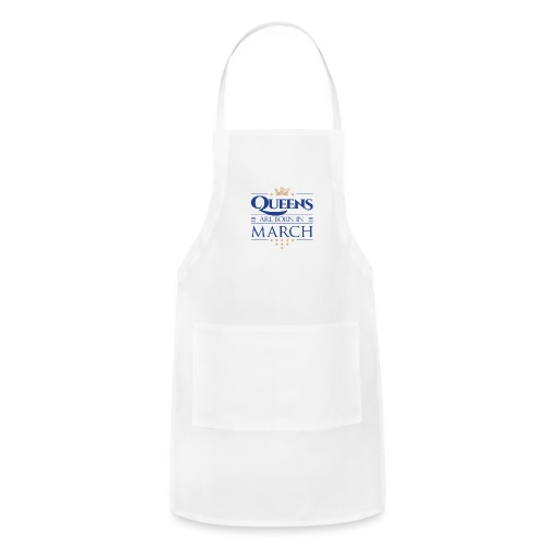 Queen of March 02 - Adjustable Apron