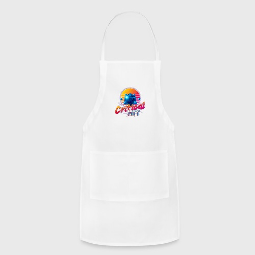 Critical Hit Dungeons Fantasy Outrun Design - Adjustable Apron