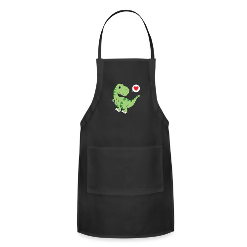 Dinosaur Love - Adjustable Apron
