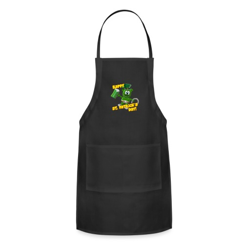 Gummibär (The Gummy Bear) Saint Patrick's Day - Adjustable Apron