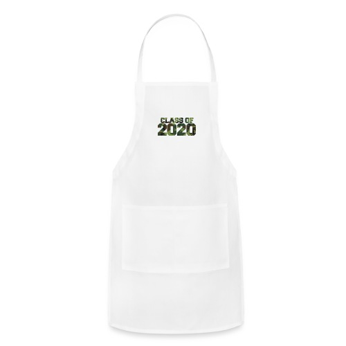 Class of 2020 Camo grad logo - Adjustable Apron