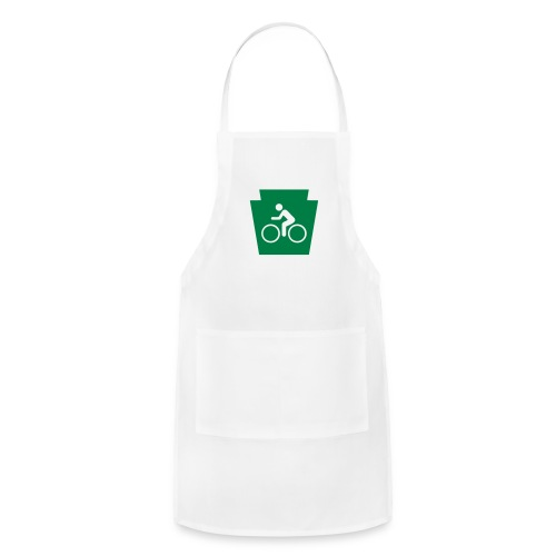 PA Keystone w/Bike (bicycle) - Adjustable Apron