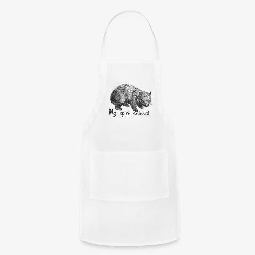 Wombat Spirit Animal - Adjustable Apron