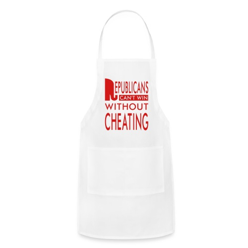 Republicans Always Cheat T-shirts - Adjustable Apron