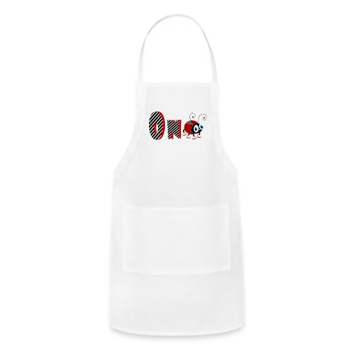 1nd Year Family Ladybug T-Shirts Gifts Daughter - Adjustable Apron