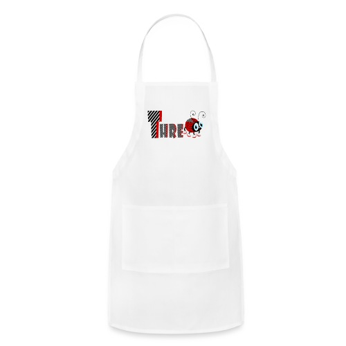 3nd Year Family Ladybug T-Shirts Gifts Daughter - Adjustable Apron