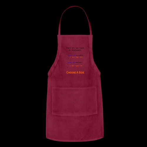 Code Styling Preference Shirt - Adjustable Apron