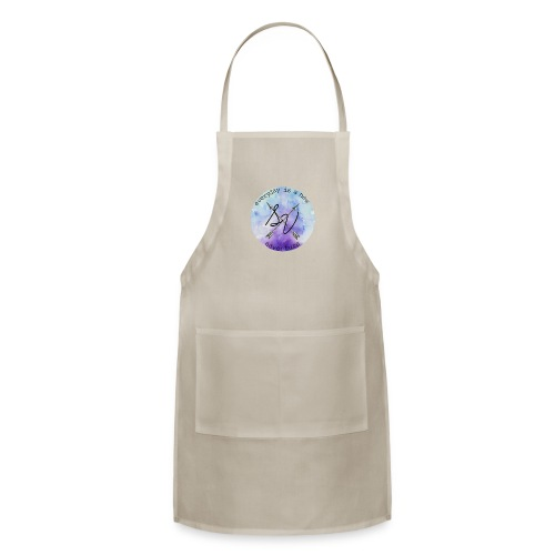 everyday is a new adventure logo - Adjustable Apron