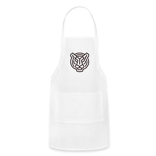Tiger head logo - Adjustable Apron
