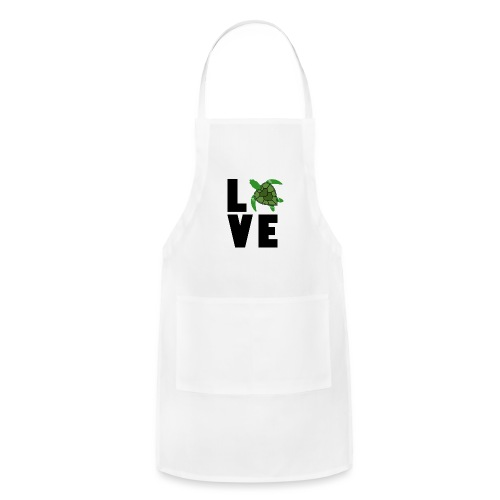 I Love Turtles - Adjustable Apron