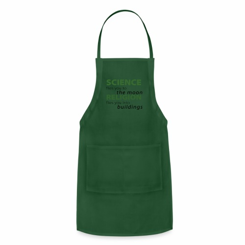 Science, Fly me to the Moon - Adjustable Apron