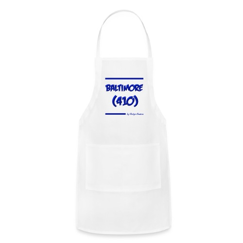 BALTIMORE 410 BLUE - Adjustable Apron