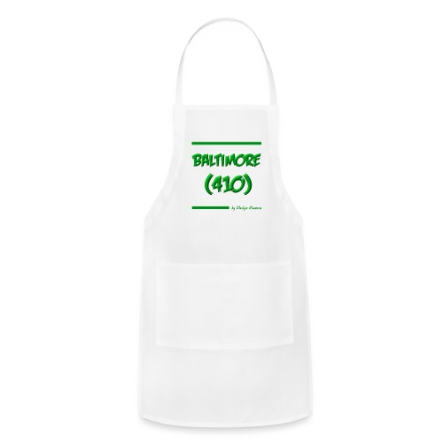 BALTIMORE 410 GREEN - Adjustable Apron